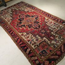 Antique Persian Heriz  4.3 x 8.1