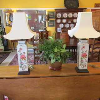 Pair of Asian-Style Lamps