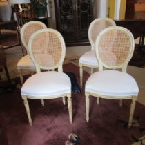 Set of Four E 20th c Louis XVI- Style Chairs SOLD