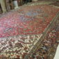 Antique Persian Heriz 10.3 x 20