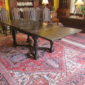18th c Oak Elizabethan Draw Leaf Table     SOLD