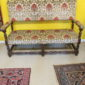William and Mary Upholstered Settee