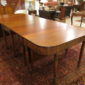 William IV Mahogany Dining Table   SOLD