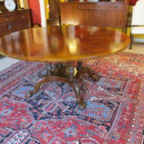 Burlwood Circular Dining Table