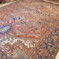 Antique Persian Heriz  10.1 x 12