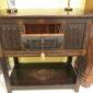 17th c Oak Court Cupboard