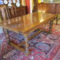 English Oak Draw-leaf Table  SOLD