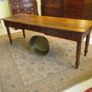 Early 19th c Pine Table