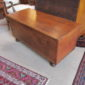 18th c American Pine Blanket Chest