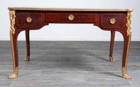 19th c Louis XV French Desk