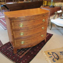 Mid 20th c Yew Wood Chest of Drawers