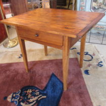 18th c American Pine Tavern Table