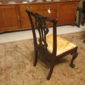Set of Four Chippendale Chairs by Kindel