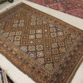 Antique Persian Balouchi  4.5 x 6.5
