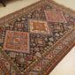 Antique Persian Ardibil  5.3 x 7.5