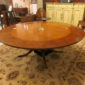 Burlwood Circular Dining Table
