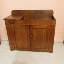 18th c American Dry Sink