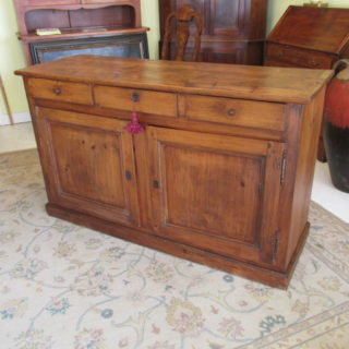 E 19th c American Pine Sideboard