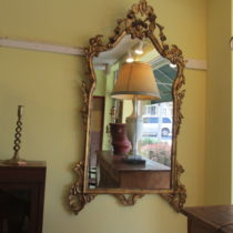19th c English Giltwood Mirror SOLD