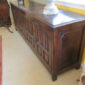 E 18th c English Oak Sideboard