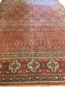 Antique Persian Tabriz  8 x 11.2