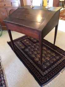 19th c American Primitive Pine School Desk