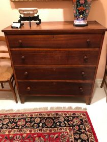 19th c American Chest of Drawers