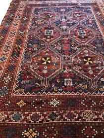 Antique Persian Gashgai  7 x 9.1