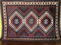 Antique Caucasian Kazak  4.4 x 6.1   SOLD