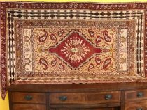 Antique Turkish Oushak  5 x 7.9