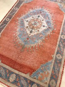 Antique Turkish Oushak  5.2 x 8.1