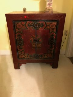19th c Painted Tibetan Cabinet     SOLD