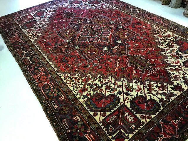 Antique Persian Heriz  7.3 x 11    SOLD
