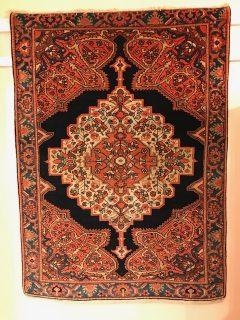 Antique Persian Ferehan Sarouk   3.6 x 5