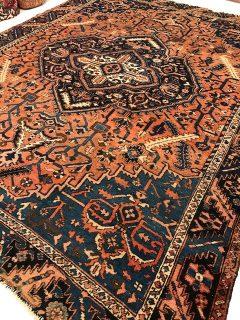 Antique Persian Serapi  9.5 x 11.4