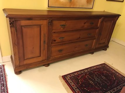 French Pine Country Sideboard