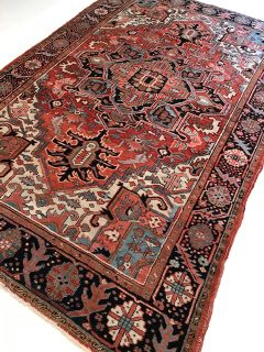 Antique Persian Serapi  6 x 9.3     SOLD