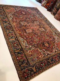 Antique Persian Heriz  6.6 x 8.11   SOLD
