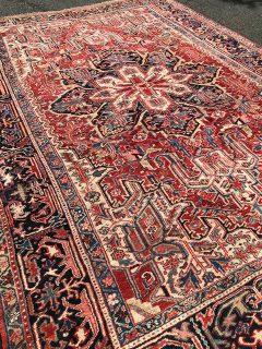Antique Persian Serapi  8.2 x 11.5