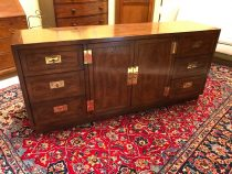 Mid 20th c Henredon Campaign Chest/Sideboard   SOLD