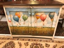 Painted Chest/ Cabinet