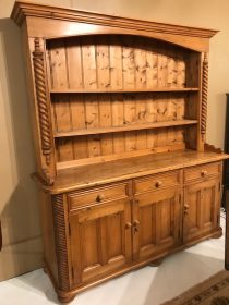 English Pine Welsh Dresser