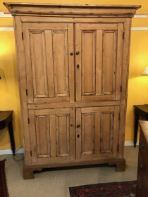 19th c Irish Pine Cupboard