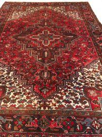 Antique Persian Heriz 7.6 x 10.3        SOLD
