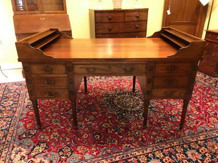 Antique George Washington Partners Desk