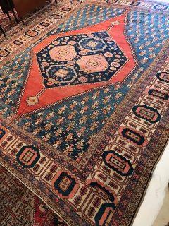 Antique Persian Serapi 11.4 x 14.2