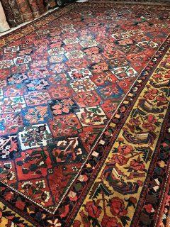 Antique Persian Baktieri   12.2 x 17.3
