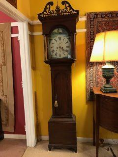Georgian Mahogany Tall Clock
