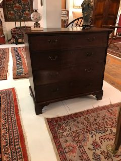 18th c English Chest of Drawers