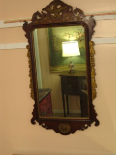 19th C Chippendale-Style Mirror